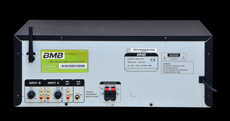 BMB amplifie Bluetooth DAH-100SE
